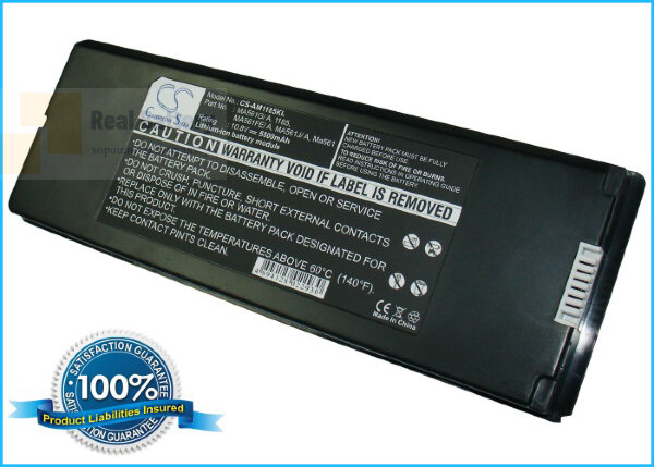 "Аккумулятор CS-AM1185KL для Apple MacBook 13"" A1181  10,8V 5000mAh Li-Polymer"