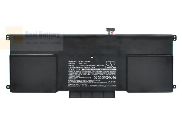Аккумулятор CS-AUX301NB для Asus UX301LA-DE002H  11,1V 4500mAh Li-Polymer