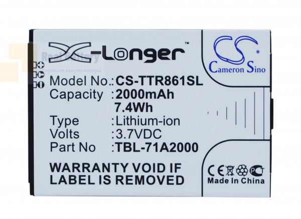 Аккумулятор CS-TTR861SL для TP-Link M5350 3,7V 2000Ah Li-ion