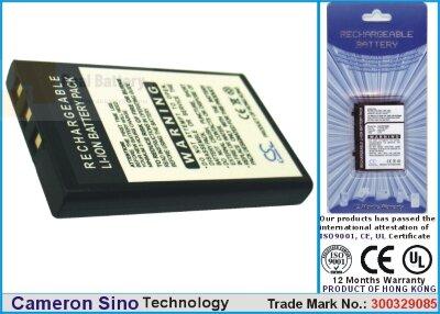 Аккумулятор CS-CM428SL для Creative DiVi CAM 428 Portable MP3 Play 3,7V 1050Ah Li-ion