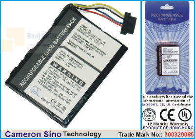 Аккумулятор CS-MIO168SL для Yakumo 300GPS 3,7V 1300Ah Li-ion