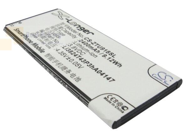 Аккумулятор CS-ZTU918SL для ZTE Blade L3 Plus 3,8V 2400Ah Li-ion