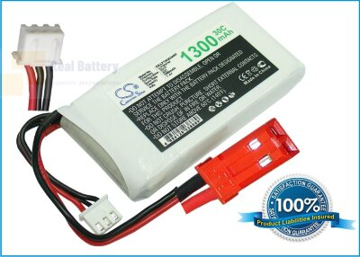 Аккумулятор CS-LP1302C30RT для RC CS-LP1302C30RT 7,4V 1300Ah Li-Polymer