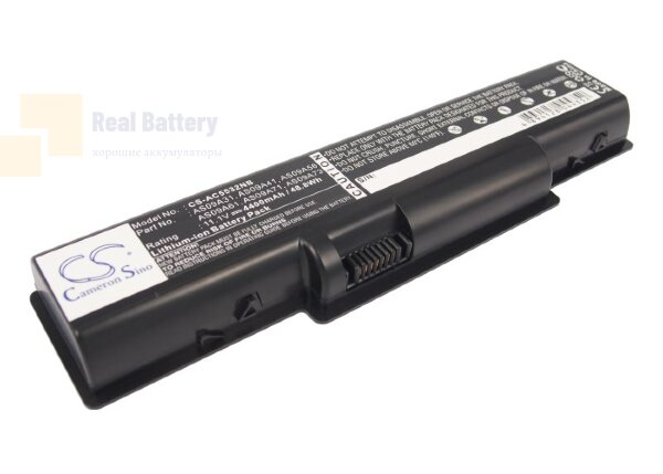 Аккумулятор CS-AC5532NB для Acer Acer Aspire 5517-5086  11,1V 4400mAh Li-ion