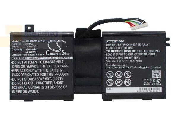 Аккумулятор CS-DEM183NB для DELL Alienware 17  14,8V 5600mAh Li-ion