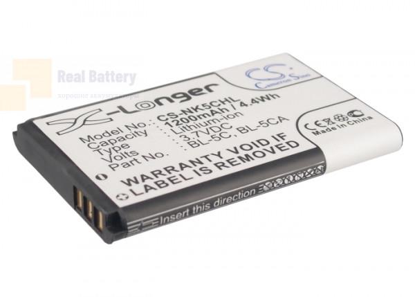 Аккумулятор CS-NK5CHL для VIBO K520 3,7V 1200Ah Li-ion