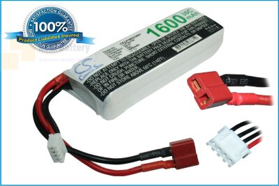 Аккумулятор CS-LP1603C30RT для RC CS-LP1603C30RT 11,1V 1600Ah Li-Polymer