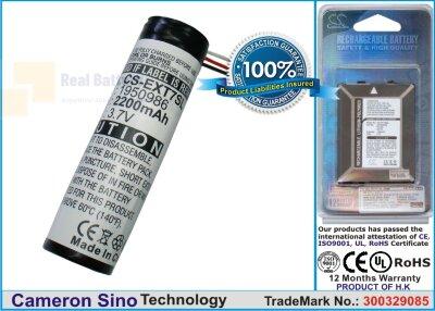 Аккумулятор CS-EXT7SL для FLIR i3 3,7V 2200Ah Li-ion