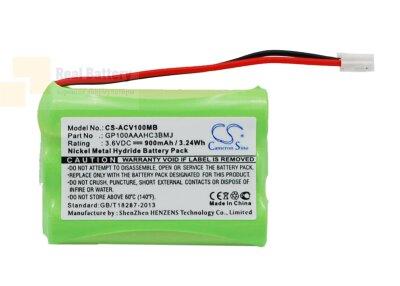 Аккумулятор CS-ACV100MB для Audioline Baby Care V100 3,6V 900Ah Ni-MH