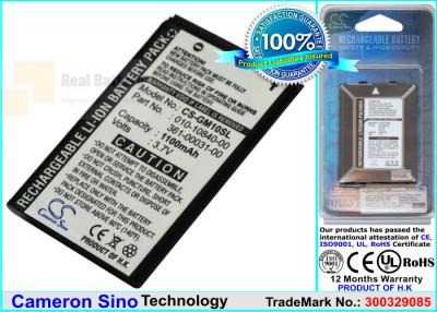 Аккумулятор CS-GM10SL для Xplova G3 3,7V 1100Ah Li-ion