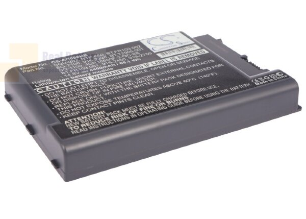 Аккумулятор CS-AC660HB для Acer Aspire 1450  14,8V 4400mAh Li-ion