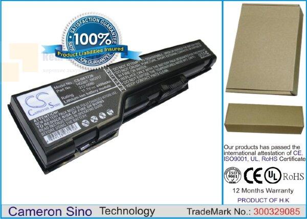 Аккумулятор CS-DE1730 для DELL XPS 1730  11,1V 4400mAh Li-ion