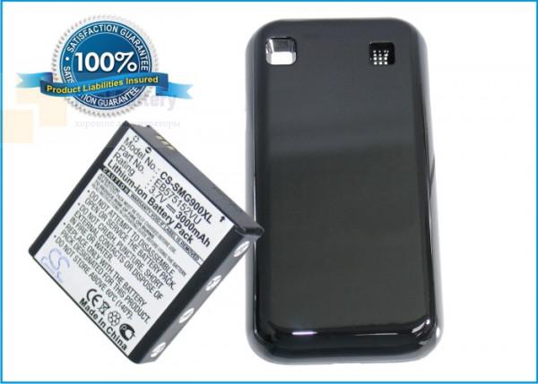 Аккумулятор CS-SMG900XL для T-Mobile SGH-T959 3,7V 3000Ah Li-ion