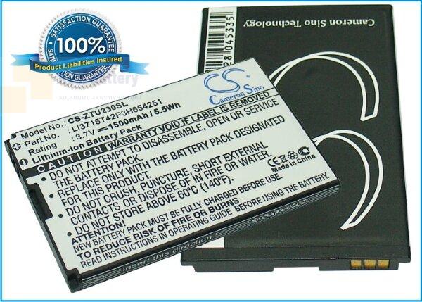 Аккумулятор CS-ZTU230SL для Verizon FiveSpot 3,7V 1200Ah Li-ion