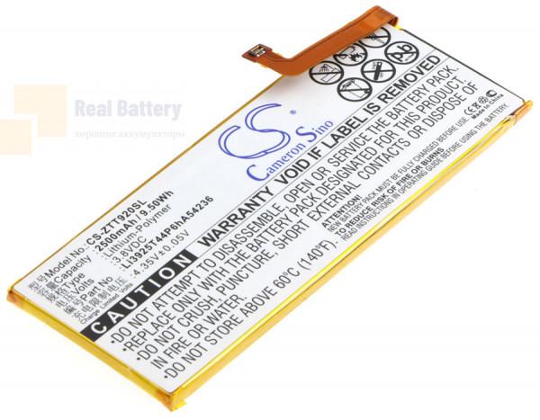 Аккумулятор CS-ZTT920SL для ZTE Blade S7 3,8V 2500Ah Li-Polymer