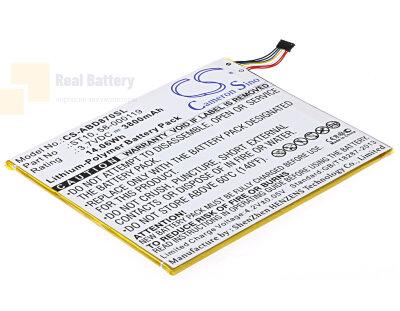 Аккумулятор CS-ABD870SL для Amazon B00VKIY9RG 3,7V 3800Ah Li-Polymer