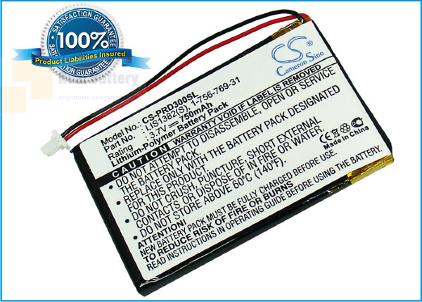 Аккумулятор CS-PRD300SL для Sony PRS-300 3,7V 750Ah Li-Polymer