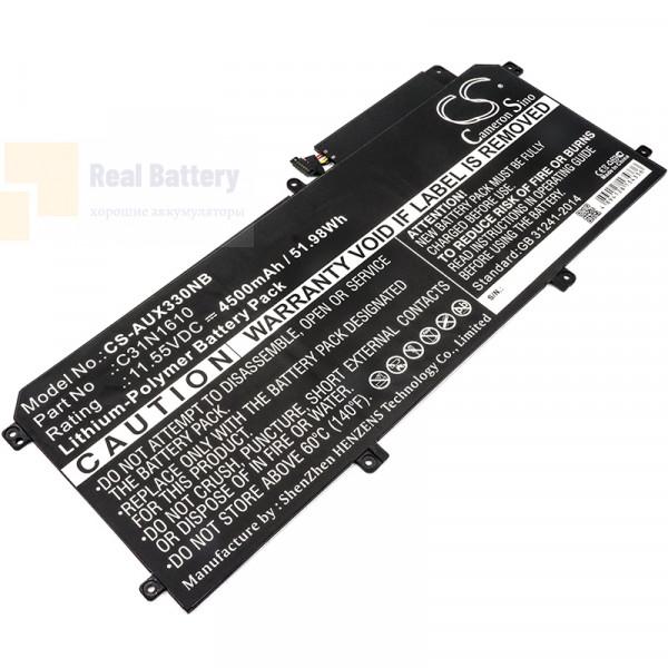 Аккумулятор CS-AUX330NB для Asus UX330  11,55V 4500mAh Li-Polymer