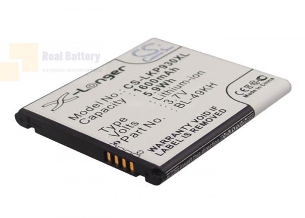 Аккумулятор CS-LKP930XL для Verizon Spectrum 3,7V 1600Ah Li-ion