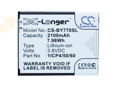 Аккумулятор CS-BY770SL для Beurer 952.62 3,8V 2100Ah Li-ion