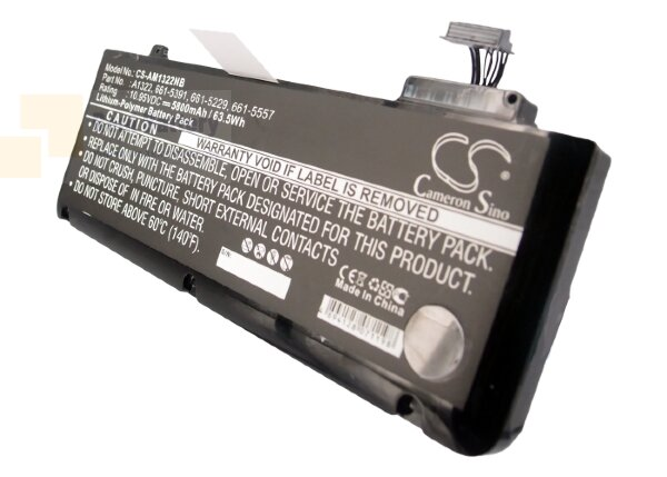 Аккумулятор CS-AM1322NB для Apple MacBook Pro 13  10,95V 5800mAh Li-Polymer