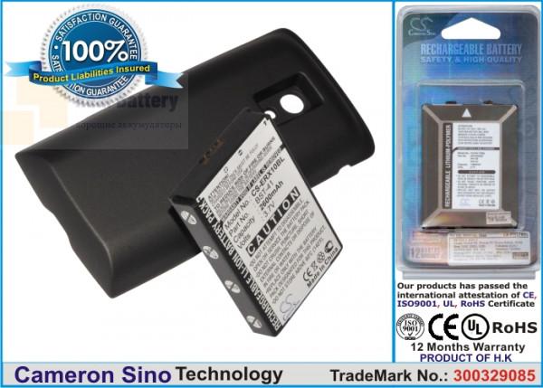 Аккумулятор CS-ERX10BL для Sony Ericsson Xperia X10 3,7V 2600Ah Li-ion