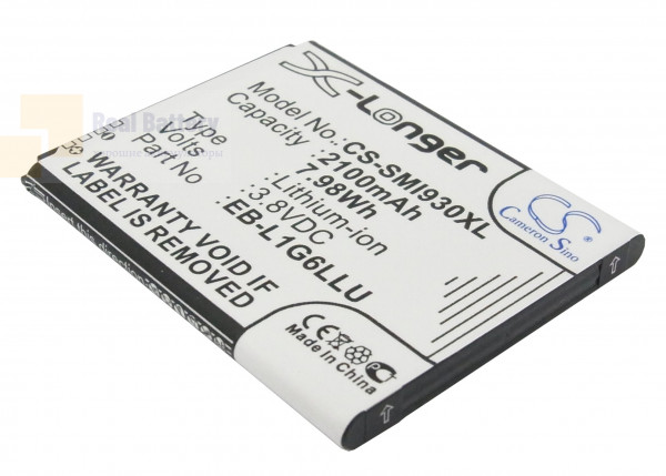 Аккумулятор CS-SMI930XL для Sprint Galaxy S3 3,8V 2100Ah Li-ion