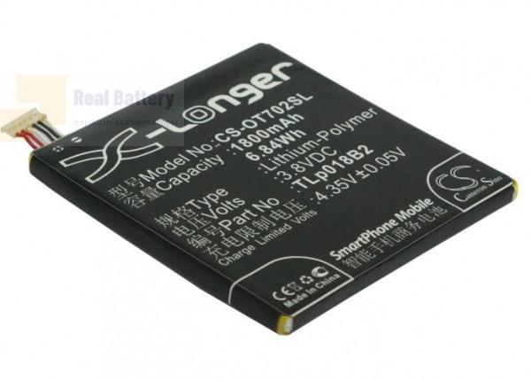 Аккумулятор CS-OT702SL для TCL P600 3,8V 1800Ah Li-Polymer