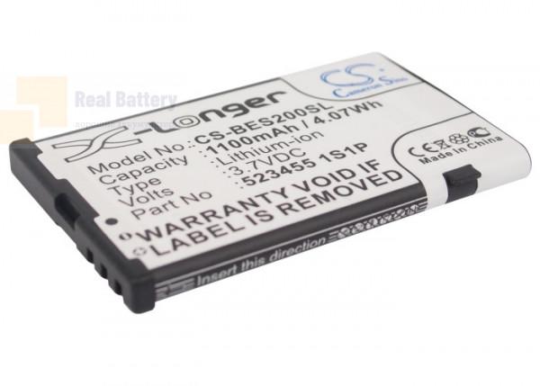 Аккумулятор CS-BES200SL для VIDEOCON V1612 3,7V 1100Ah Li-ion
