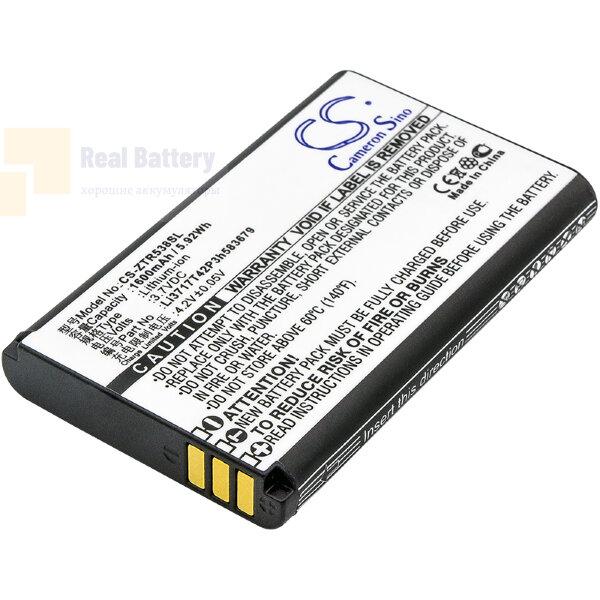 Аккумулятор CS-ZTR538SL для ZTE R538 3,7V 1600Ah Li-ion