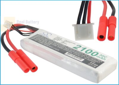Аккумулятор CS-LP2102C30R8 для RC CS-LP2102C30R8 7,4V 2100Ah Li-Polymer