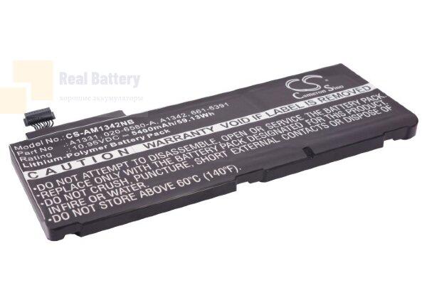 "Аккумулятор CS-AM1342NB для Apple MacBook 13""  10,95V 5400mAh Li-Polymer"