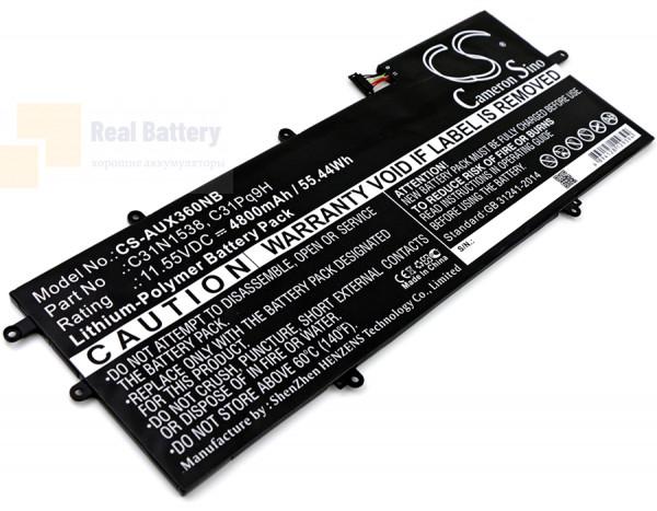 Аккумулятор CS-AUX360NB для Asus Q324UA  11,55V 4800mAh Li-Polymer