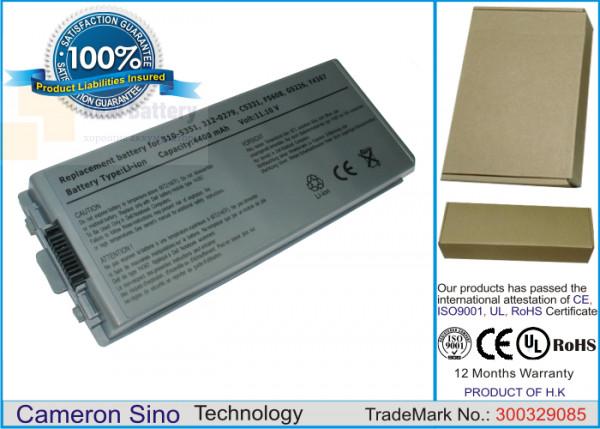 Аккумулятор CS-DEM70NB для DELL Latitude D810  11,1V 4400mAh Li-ion