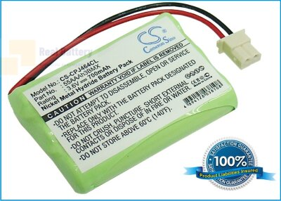 Аккумулятор CS-CPJ464CL для BT Video Baby Monitor 630 3,6V 700Ah Ni-MH