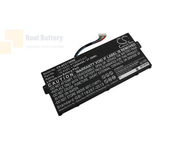 Аккумулятор CS-ACC738NB для Acer CB3-131  10,8V 3450mAh Li-ion
