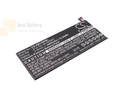 Аккумулятор CS-ABT500SL для Amazon S12-T5 3,8V 3400Ah Li-Polymer