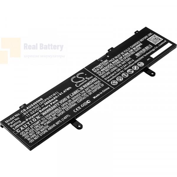 Аккумулятор CS-AUX405NB для Asus Vivobook 14  11,52V 3600mAh Li-Polymer
