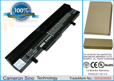 Аккумулятор CS-AUL32DB для Asus Eee PC 1001HA 10,8V 6600Ah Li-ion