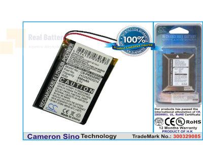 Аккумулятор CS-PRS320RC для Philips 2577744 3,7V 850Ah Li-Polymer