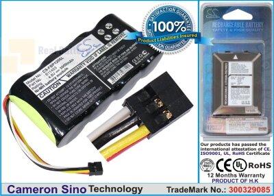 Аккумулятор CS-FBP120SL для Fluke Fluke 123 ( Firmware below V2. 4,8V 3000Ah Ni-MH