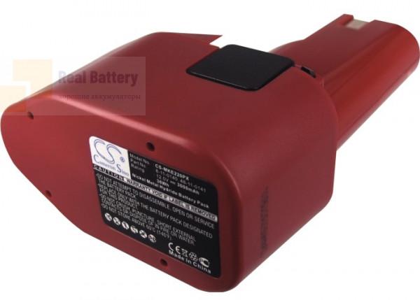 Аккумулятор для Milwaukee 0398-1 12V 3Ah Ni-MH CS-MKE220PX