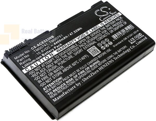 Аккумулятор CS-ACE523NB для Acer Extensa 5120  10,8V 4400mAh Li-ion