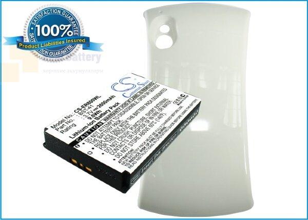 Аккумулятор CS-ER800WL для Sony Ericsson R800a 3,7V 2600Ah Li-ion