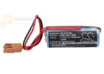 Аккумулятор CS-FN210SL для GE FANUC CNC 16/18-B 3V 2000Ah Li-MnO2