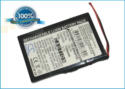 Аккумулятор CS-BNG01SL для Blaupunkt Navi GPS 3,7V 1100Ah Li-ion