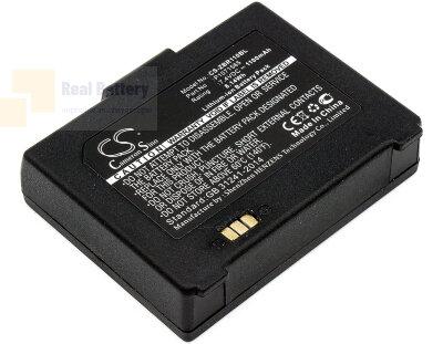 Аккумулятор CS-ZBR110BL для Zebra ZQ110 7,4V 1100Ah Li-ion
