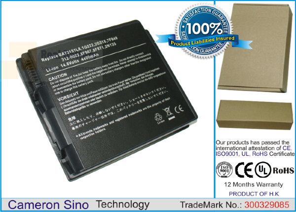 Аккумулятор CS-DE2600 для DELL Inspiron 2600  14,8V 4400mAh Li-ion