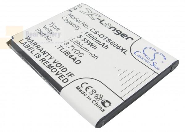 Аккумулятор CS-OTS606XL для TCL Horizon 3,7V 1500Ah Li-ion