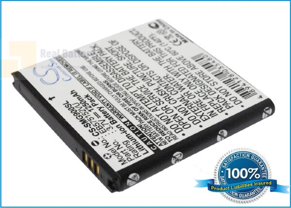 Аккумулятор CS-SMG900SL для Verizon EB575152LA 3,7V 1250Ah Li-ion
